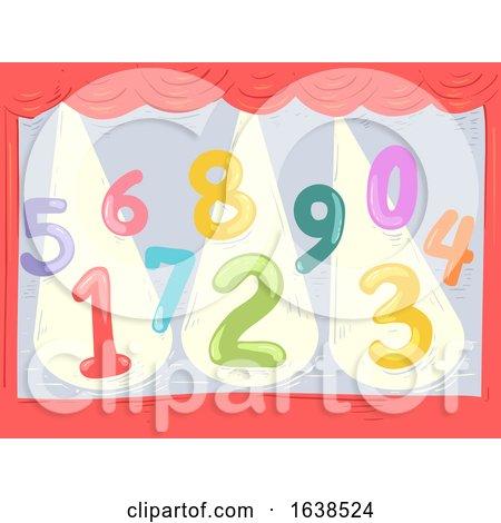 Numbers Stage Spotlight Illustration by BNP Design Studio