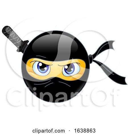 Yellow Emoji Smiley Ninja by yayayoyo