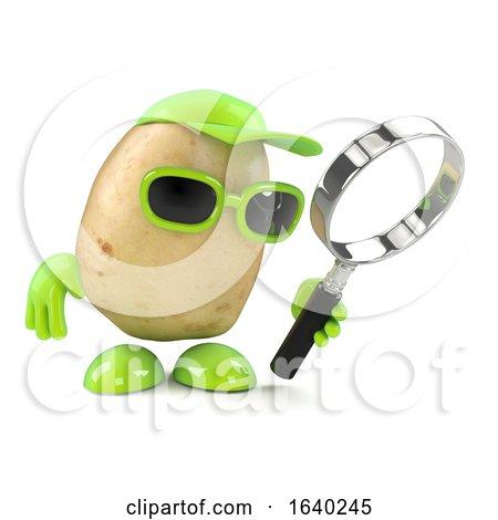 3d Potato Magnifier by Steve Young