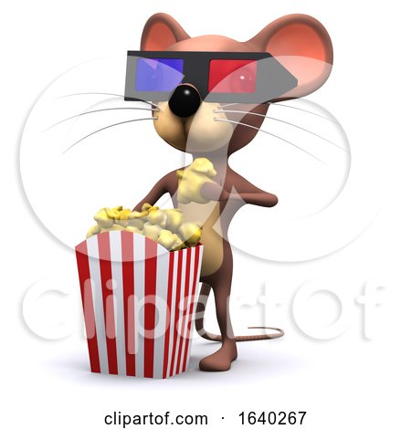 3d Mouse at the Movies by Steve Young