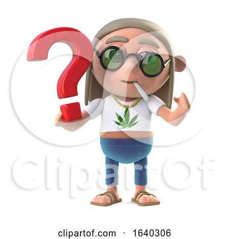 3d Hippie Stoner Has a Question by Steve Young