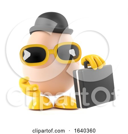 3d Business Egg by Steve Young