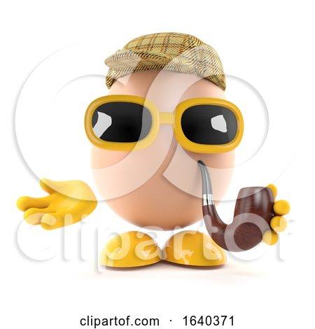 3d Sherlock Egg by Steve Young