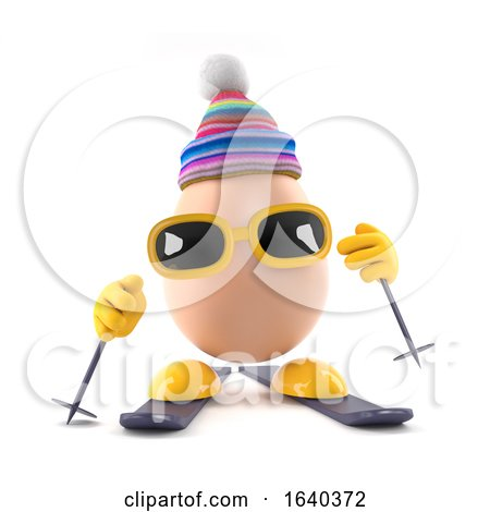 3d Egg Skiing by Steve Young