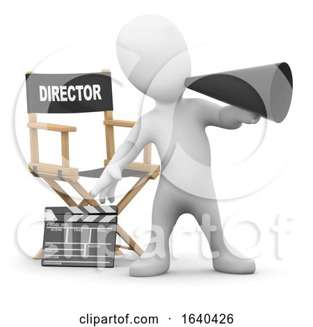 3d Little Man Directs the Movies by Steve Young