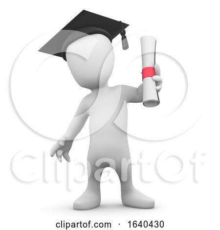 3d Little Man Graduates by Steve Young