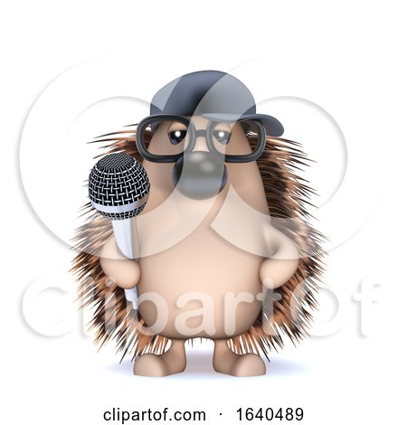 3d MC Hedgehog by Steve Young