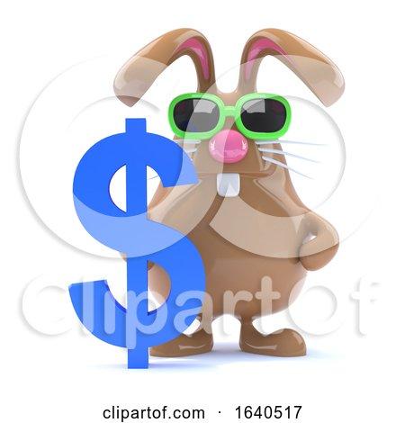 3d Dollar Bunny Posters, Art Prints