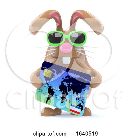 3d Bunny Checkout Posters, Art Prints