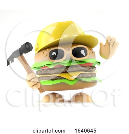 3d Burger Builder by Steve Young