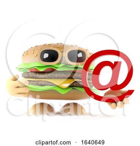 3d Beefburger Has an Email Address by Steve Young