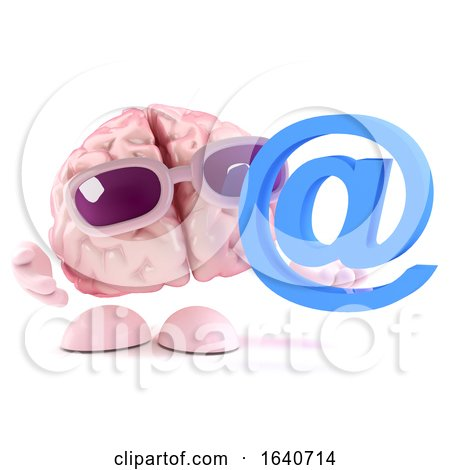 3d Brain Has an Email Address by Steve Young