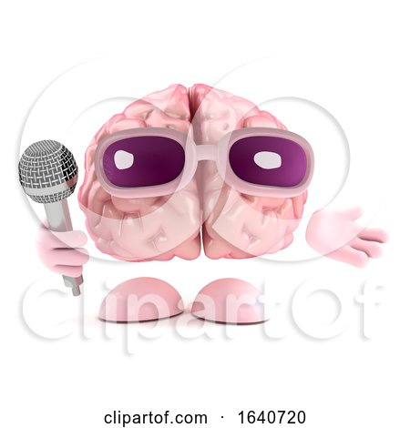3d Singing Brain by Steve Young