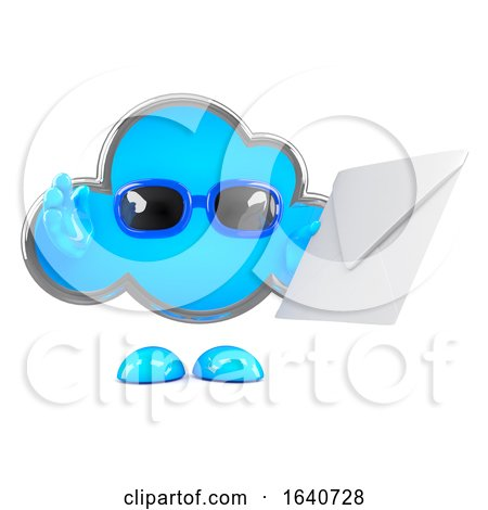 3d Cloud Mail by Steve Young