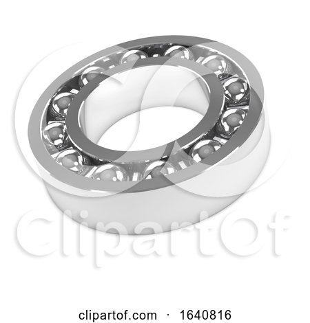 3d Chrome Bearings Casing by Steve Young