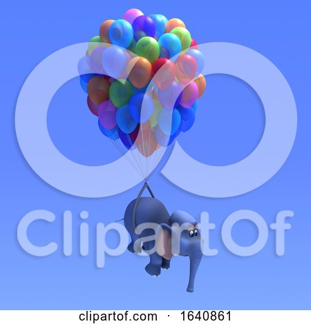 3d Elephant Balloons by Steve Young
