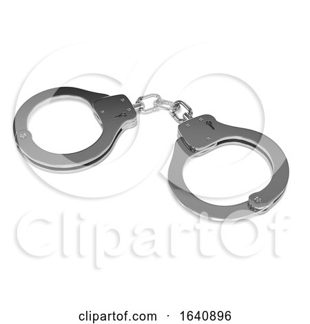 3d Handcuffs by Steve Young