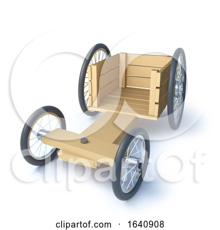 3d Front View Go Kart by Steve Young