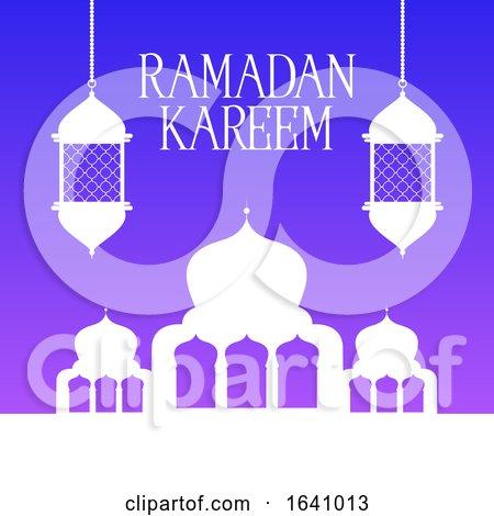 Ramadan Kareem Background by KJ Pargeter