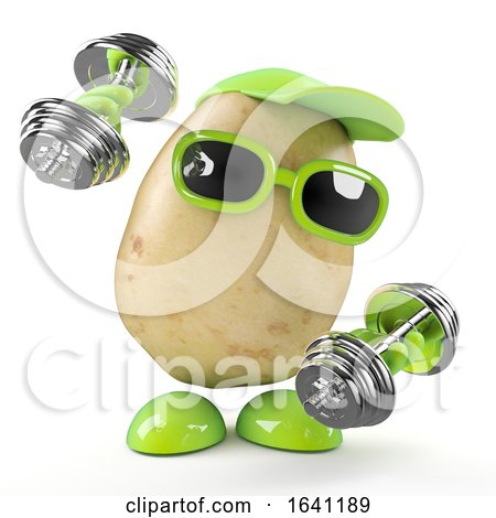 3d Potato Works out by Steve Young