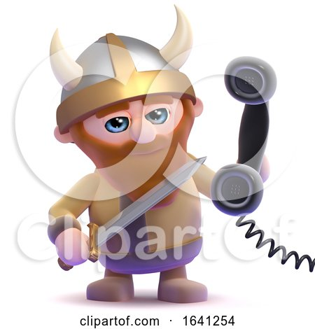 3d Viking Call-centre by Steve Young
