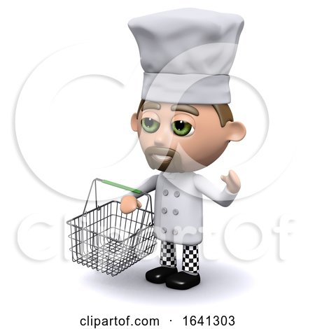3d Chef Goes Shopping by Steve Young