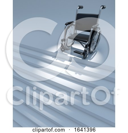 3d Wheelchair and Staircase by Steve Young