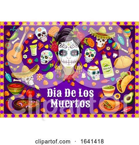 Dia De Los Muertos Design by Vector Tradition SM