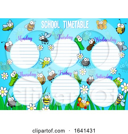 School Timetable by Vector Tradition SM