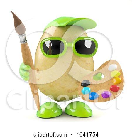 3d Potato Artist by Steve Young