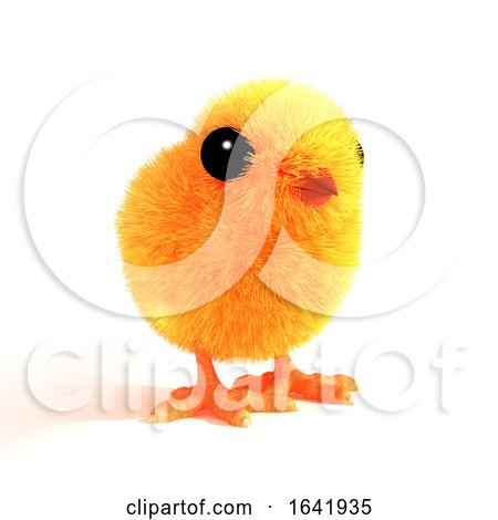 3d Little Baby Chick Posters, Art Prints