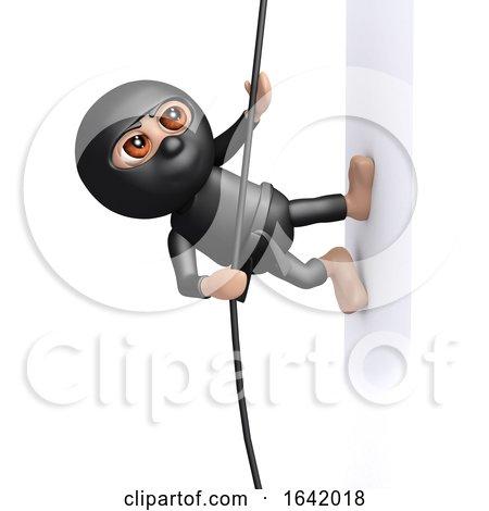 3d Ninja Climbs by Steve Young