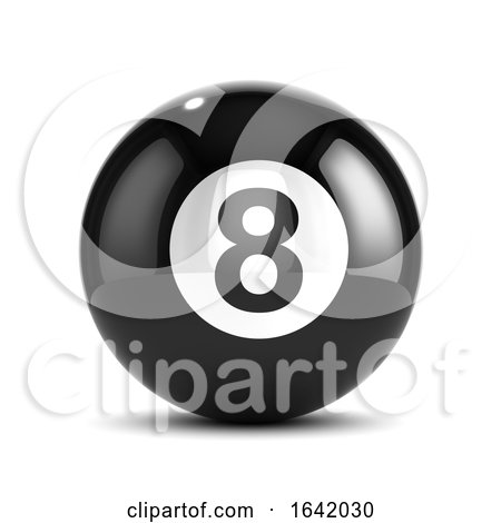 3d Eight Ball by Steve Young
