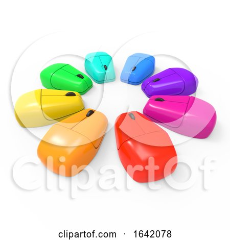 3d Mice Spectrum by Steve Young