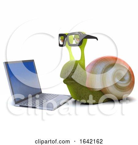 3d Nerd Snail by Steve Young