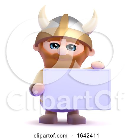 3d Viking Banner by Steve Young