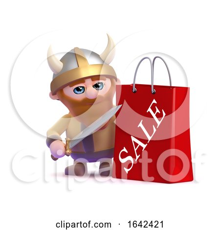 3d Viking Has Been to the Sales by Steve Young