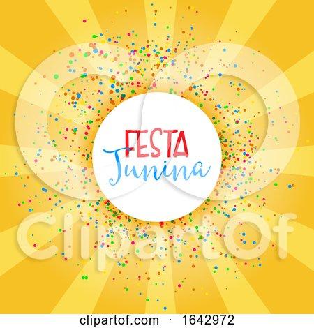 Festa Junina Celebration Background by KJ Pargeter