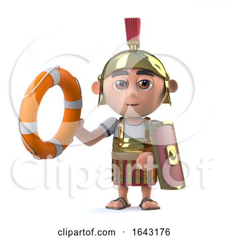3d Roman Centurion Comes to the Rescue by Steve Young