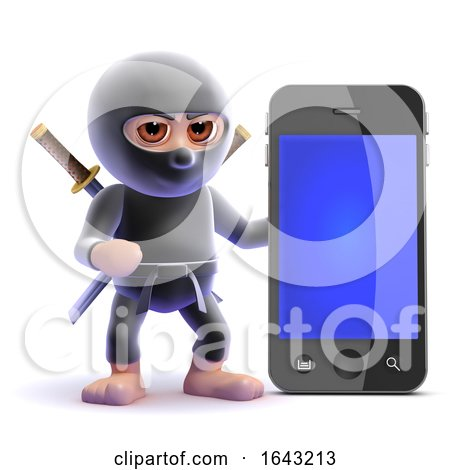 3d Ninja Smartphone by Steve Young
