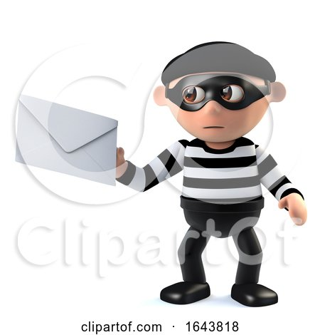 3d Burglar Steals Your Mail by Steve Young