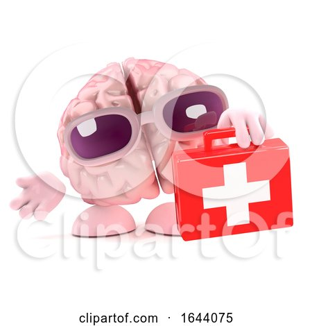 3d Brain First Aid by Steve Young