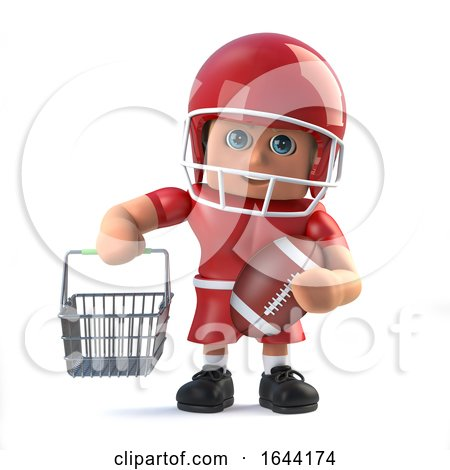 3d American Footballer Goes Shopping by Steve Young