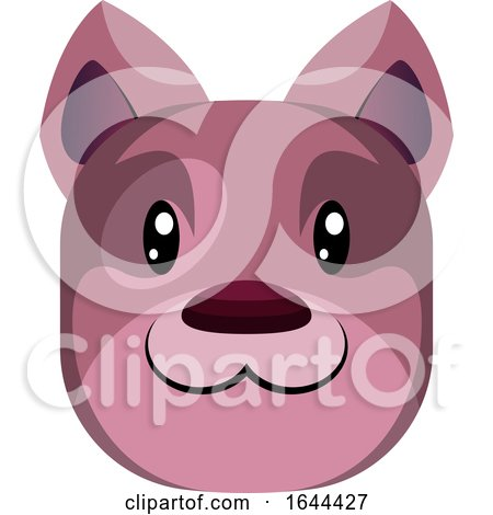Happy Dog Face Avatar by Morphart Creations