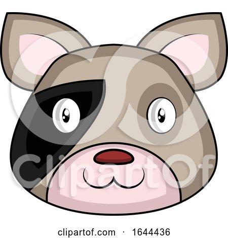 Cartoon Dog Face Avatar by Morphart Creations