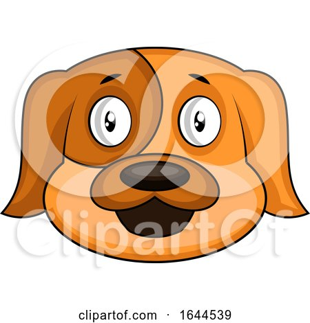 Cartoon Dog Face Avatar by Morphart Creations