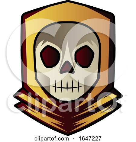 Skull Wearing a Hoody Posters, Art Prints