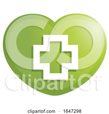 First Aid Cross Heart Posters, Art Prints