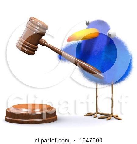 3d Bluebird Runs an Auction by Steve Young