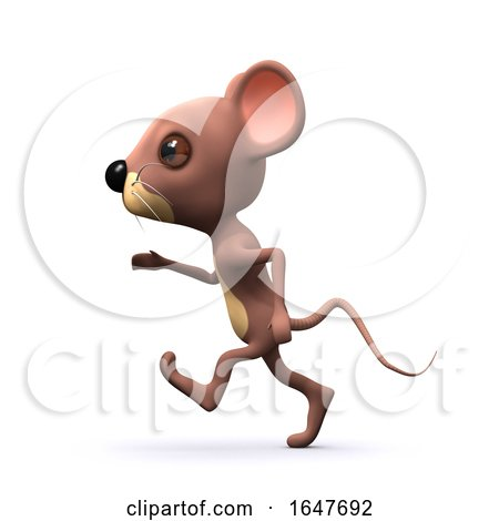 3d Running Mouse by Steve Young